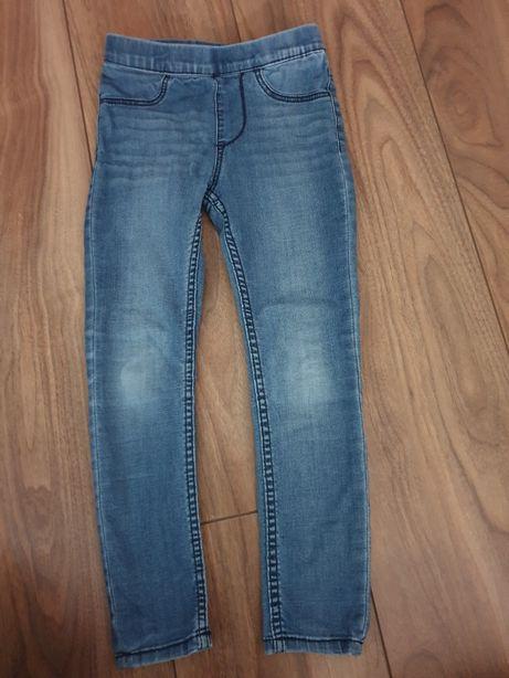 Spodnie h&m jeansy 116