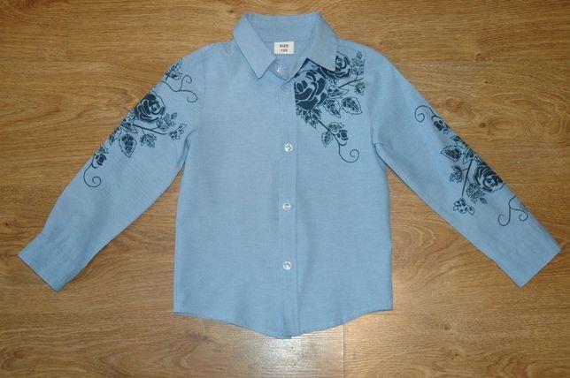 Шкільні сорочки, на зріст 120-128 см.