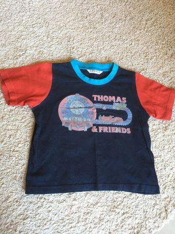 T-shirt koszulka chłopięca Tomek George 92