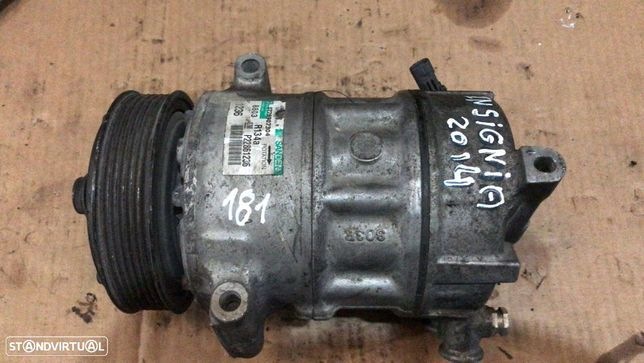 Compressor Ar Condicionado A/C Opel Insignia 2014 Ref:GM P22861236
