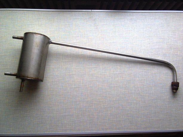 Дистиллятор-дистилятор-змеевик-холодильник-аппарат (проточный) нерж
