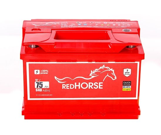 Акумулятор Red Horse (WESTA RED) 74 Ah 720A 70.72.75.80.90