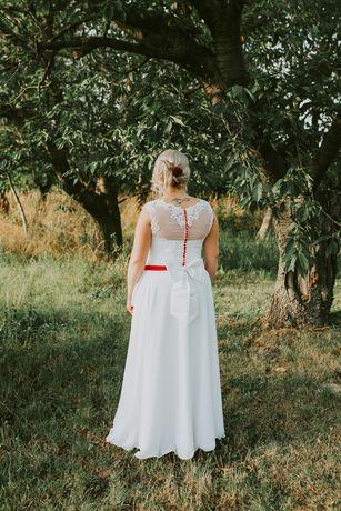 Sprzedam sukienkę ślubną rozmiar od 40/44