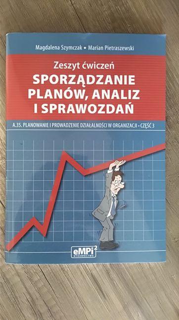 Sporządzanie planów, analiz i sprawozdań