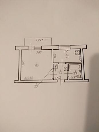 Квартира 1-но кімнатна