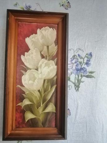 Картина тюльпан оригинальный подарок