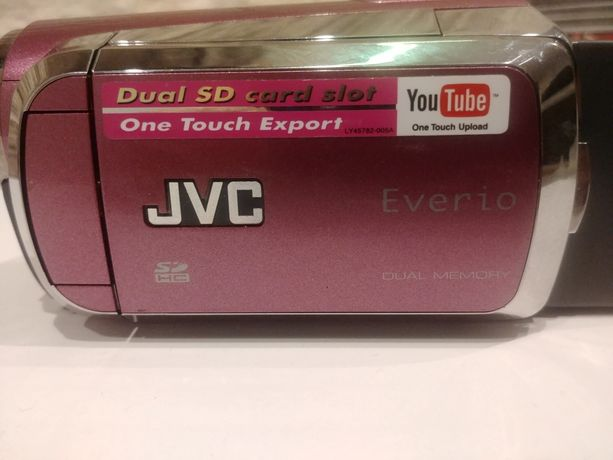 JVC Kamera cyfrowa GZ-MZ120PE
