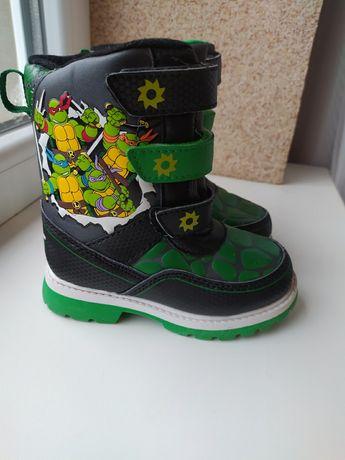 Демисезонние ботинки