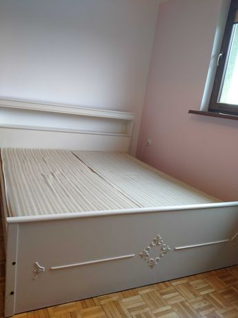 Łóżko sypialniane 220x170 + 2materace