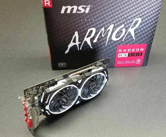MSI Radeon RX 580 Armor 8G OC 8GB GDDR5 Placa Gráfica