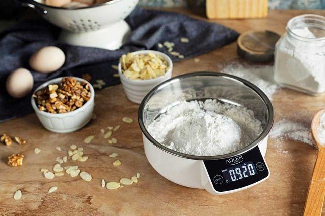 Waga kuchenna z misą do 5kg LCD ADLER AD3166