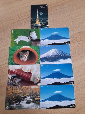 Karty telefoniczne - Japonia , 9 szt