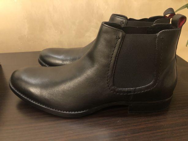 Ботинки (осень-зима) кожа Lasocki.Польша.47 размер.стелька 30,5 см