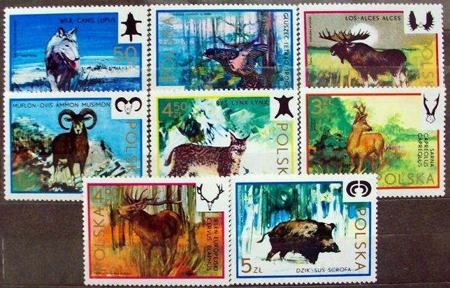 K znaczki polskie rok 1973 Fi 2100 / 2107 **