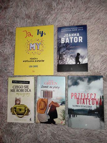 Książki różna tematyka różna cena