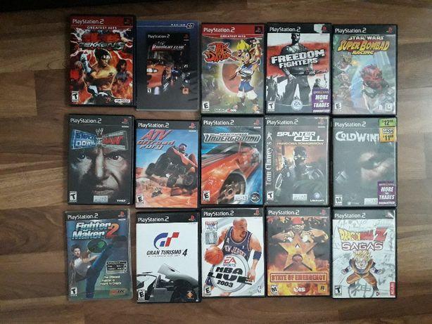 Kolekcja Gier PS2 PAL / NTSC
