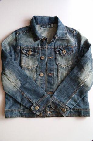 Джинсовая куртка, пиджак Kiabi, 128 разм.