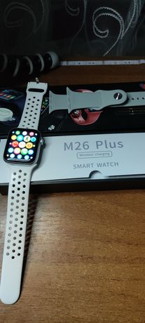 Smart watch m26 plus wireless charging