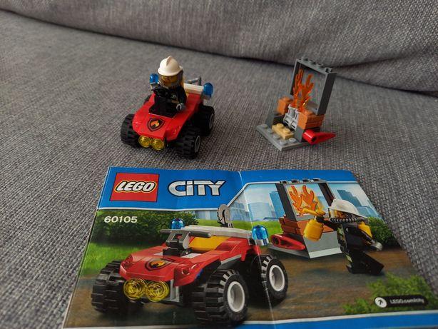 Lego city 60105 straż pożarna