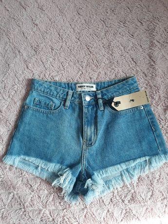 Spodenki jeansowe nowe