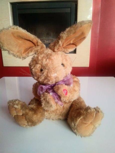 Śliczny królik, maskotka śpiewa piosenkę Happy Day