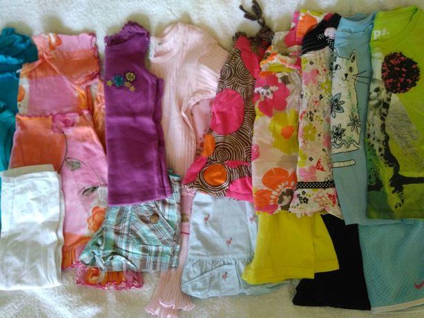 Пакет ярких летних брендовых вещей для девочки 4T, отличное состояние.