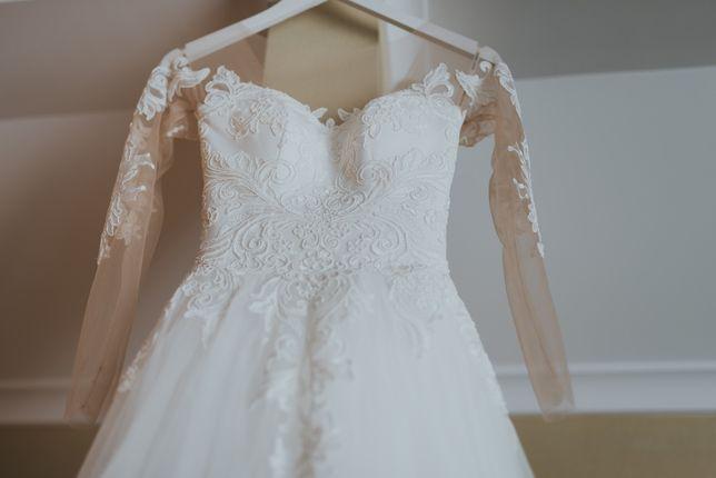 Piękna suknia ślubna z salonu Joanna