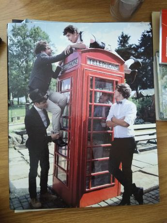 Capa de Argolas OneDirection