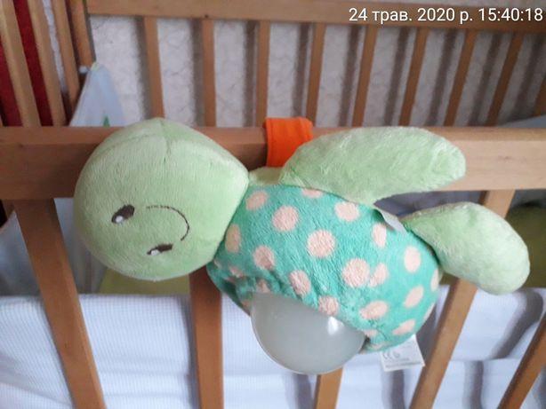 """Музыкальная игрушка """"черепаха"""" ТМ Mothercare ночной светильник"""