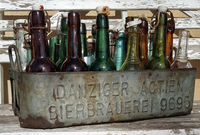 Skrzynka Danzig, butelki po piwie zamienię na MDLot Puck