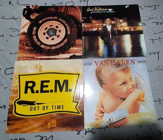 Discos de vinil rock 80,90