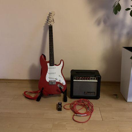 Gitara Squier by FENDER Bullet Stratocaster rock blues metal piecyk