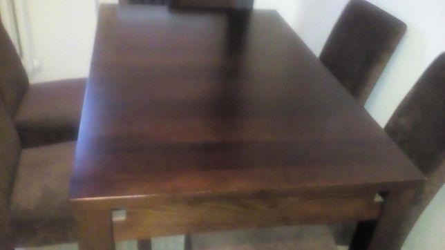 Stol z 6 krzeslami