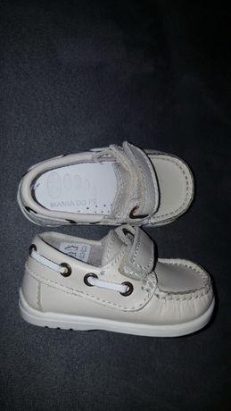 Sapatos Mania do Pé menino n°18 novos - portes incluídos