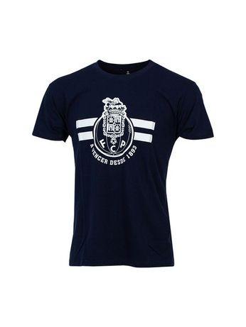 T-shirt Ad Azul Escuro Logo + A vencer FC Porto
