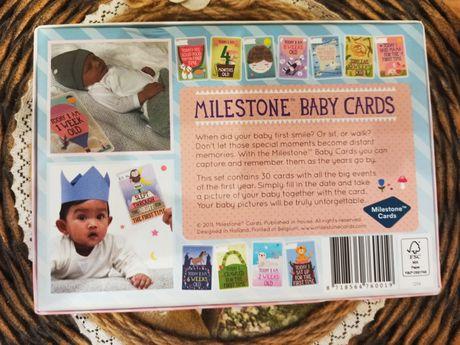 Карточки Milestone для фотосессии