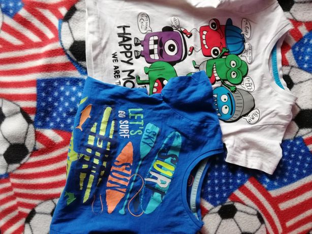 Koszulki dla chłopca 7szt za 25zł