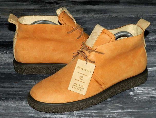 Ecco CrepeTray оригинальные кожаные невероятно крутые ботинки