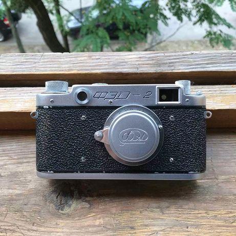 фотоаппарат фед2 второй выпуск 50е года с гравировкой (в коллекцию)