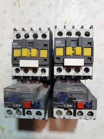 Електромагнітні пускачі КМИ 10910 з катушками на 24В і тепловими реле