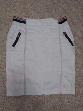 Белая женская юбка (М)