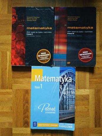 Podręczniki matura matematyka zakres podstawowy i rozszerzony