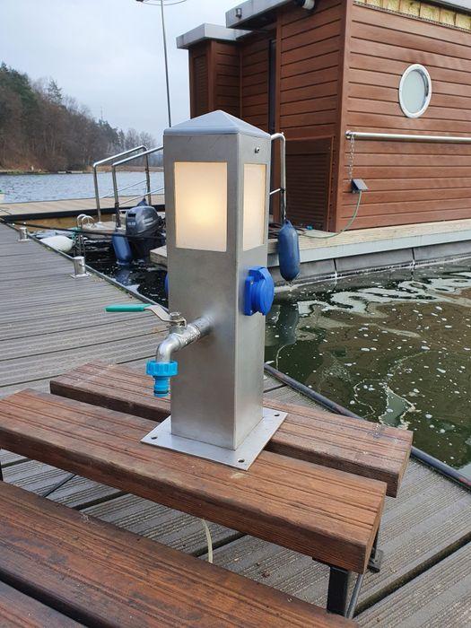 Słupki do dystrybucji i wody z oświetleniem Ruciane-Nida - image 1