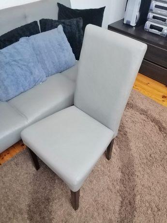 Krzesła do pokoju stołowego ekoskóra