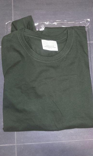 T-shirt verde tropa
