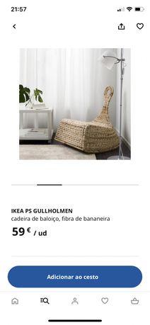 Cadeira baloico ikea