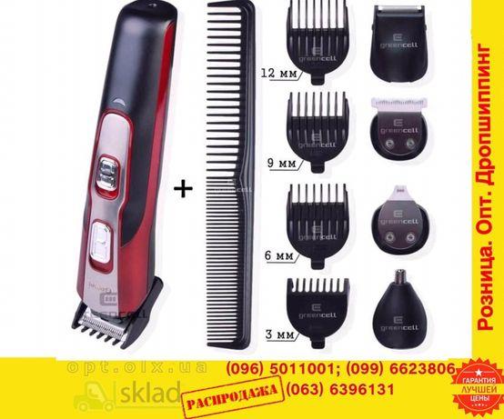 Машинка для стрижки волос10в1 триммерБородыНоса электроБритва gemei592