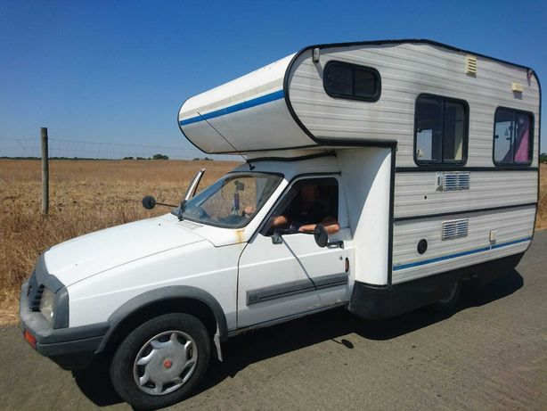 Autocaravana Citroen C15 adventure