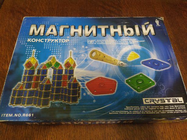 Магнитный конструктор с металлическими шариками