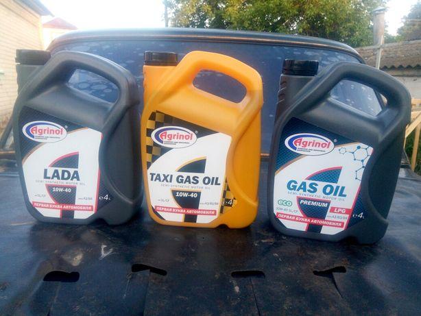 Agrinol TAXI GAS Oil 10W-40 SL/CF, 4л